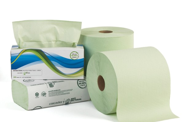 A prestigious award for the Cascades Antibacterial paper towel propels Cascades into the big leagues