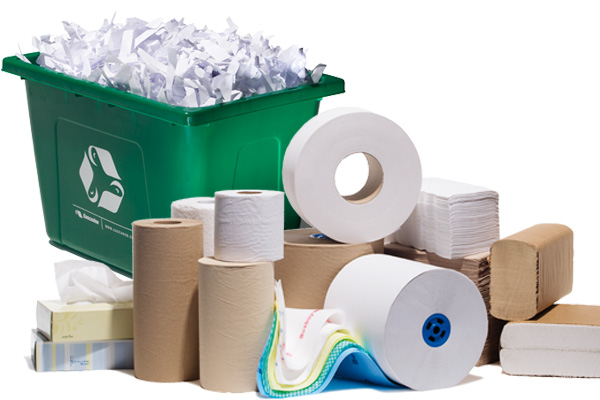 Close The Loop: From Your Green Bin To Your Bathroom Tissue Roll