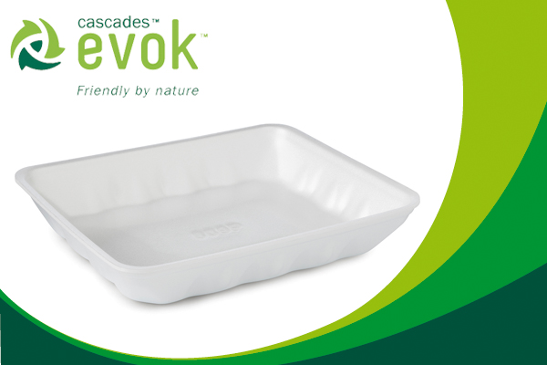 A more environmentally friendly polystyrene tray, we were successful!