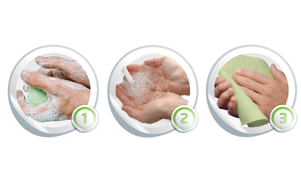 Drying hands; Essential to keep germs away this winter!