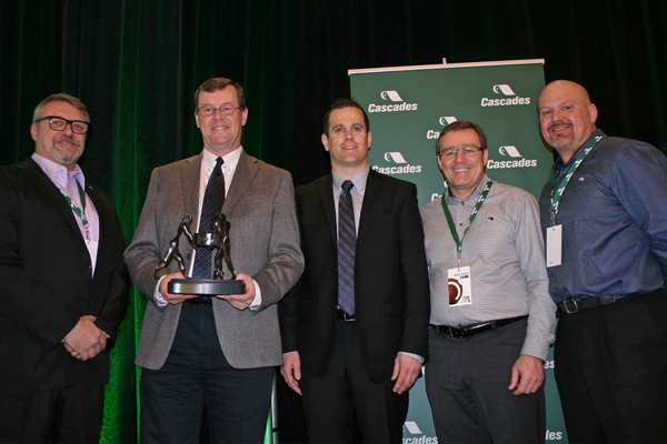 2013 Sustainable Supplier Award:  Enzymatic Deinking Technologies, LLC Earned the Ultimate Honours