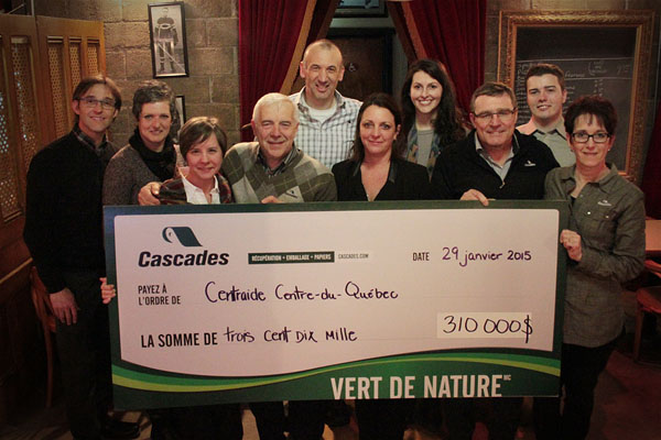 Centraide Campaign: Cascades employees go the extra mile once again!