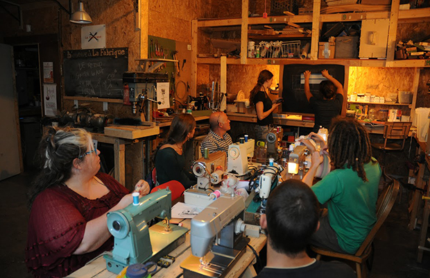 The eco-entrepreneur who captured our hearts: La Fabrique, a co-operative of workshops and communal spaces