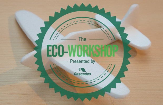 Eco-Workshop No. 3: The Polystyrene Airplane