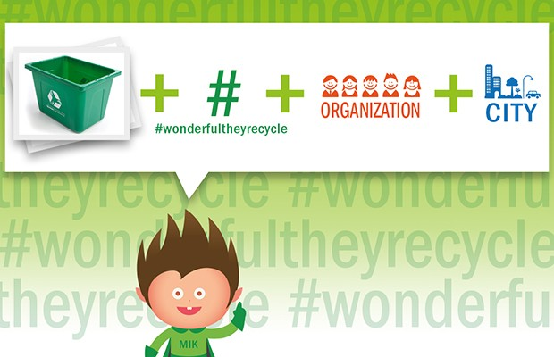 Wonderful, they recycle!  Let's start a green social movement