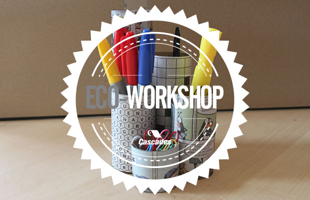 Eco-Workshop No. 4: The Cardboard Pencil Cup