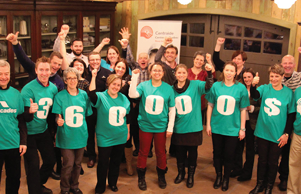 A record sum for Centraide Centre-du-Québec: Cascades employees outdo themselves once again!