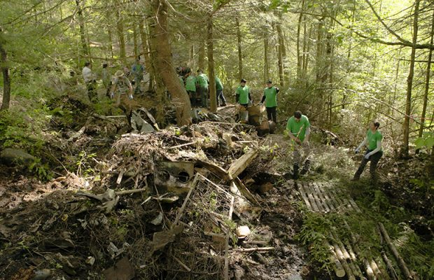 Cascades is doing its part to keep nature clean