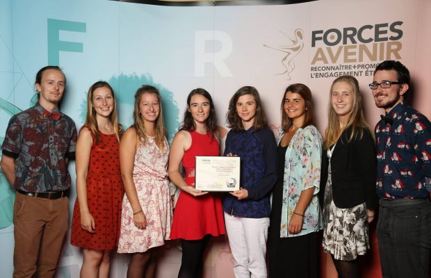 2017 Forces AVENIR Gala: Ruche Campus wins the Environment AVENIR award