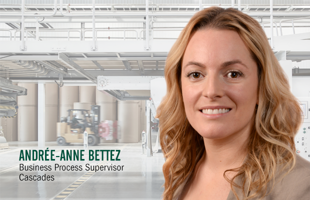 Andrée-Anne Bettez, an exceptional leader